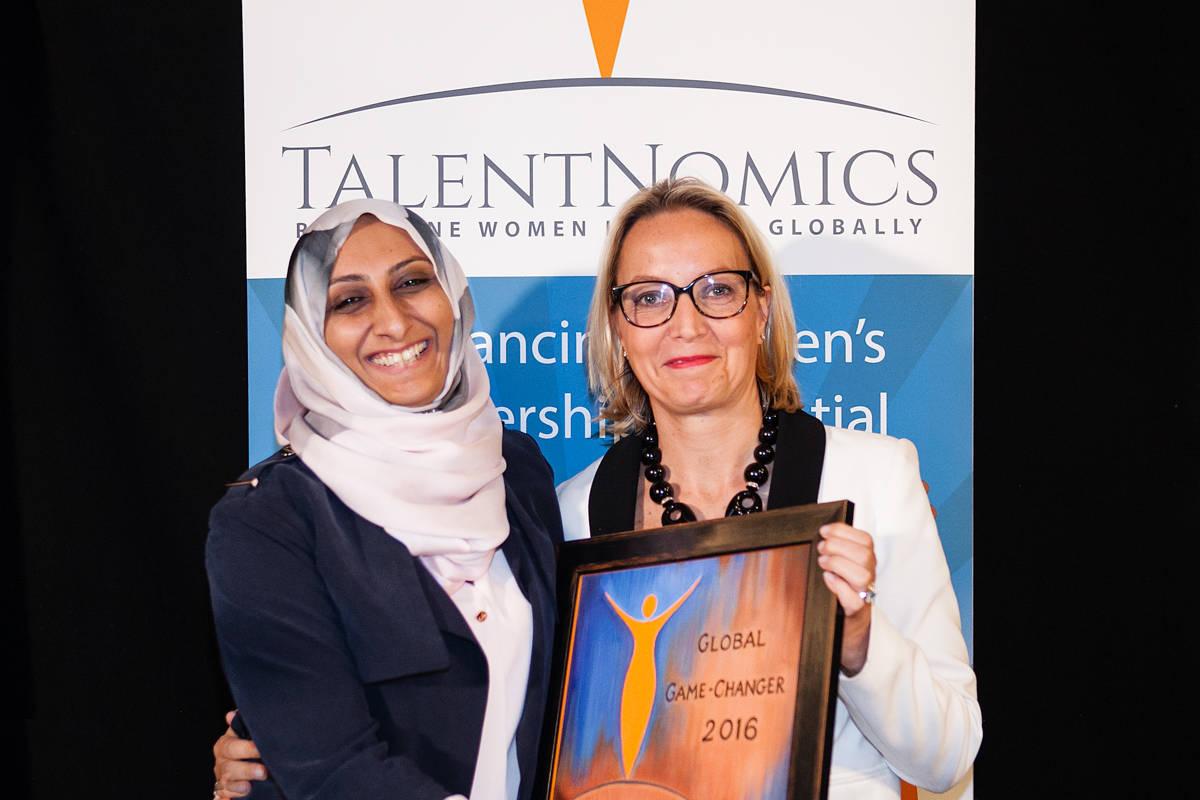 Zubaida Bai ( AYZH Inc) — awarded the prize for innovation